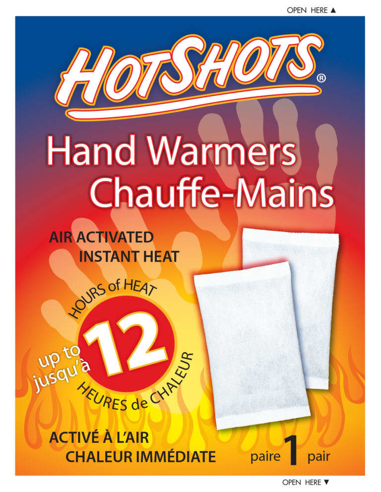 hOTSHOTS HAND TOE BODY AND INSOLE WARMERS