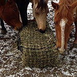 Small square bale Hay Net